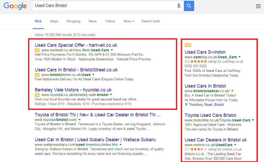 ppc ads search ads