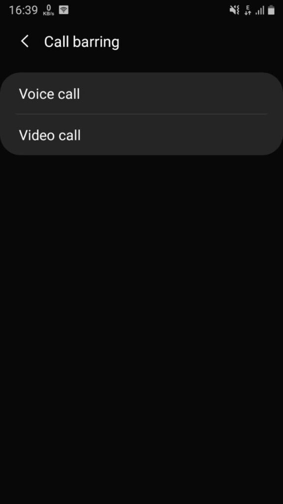 voice and video call